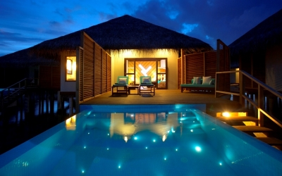 WATER BUNGALOW WITH POOL Image