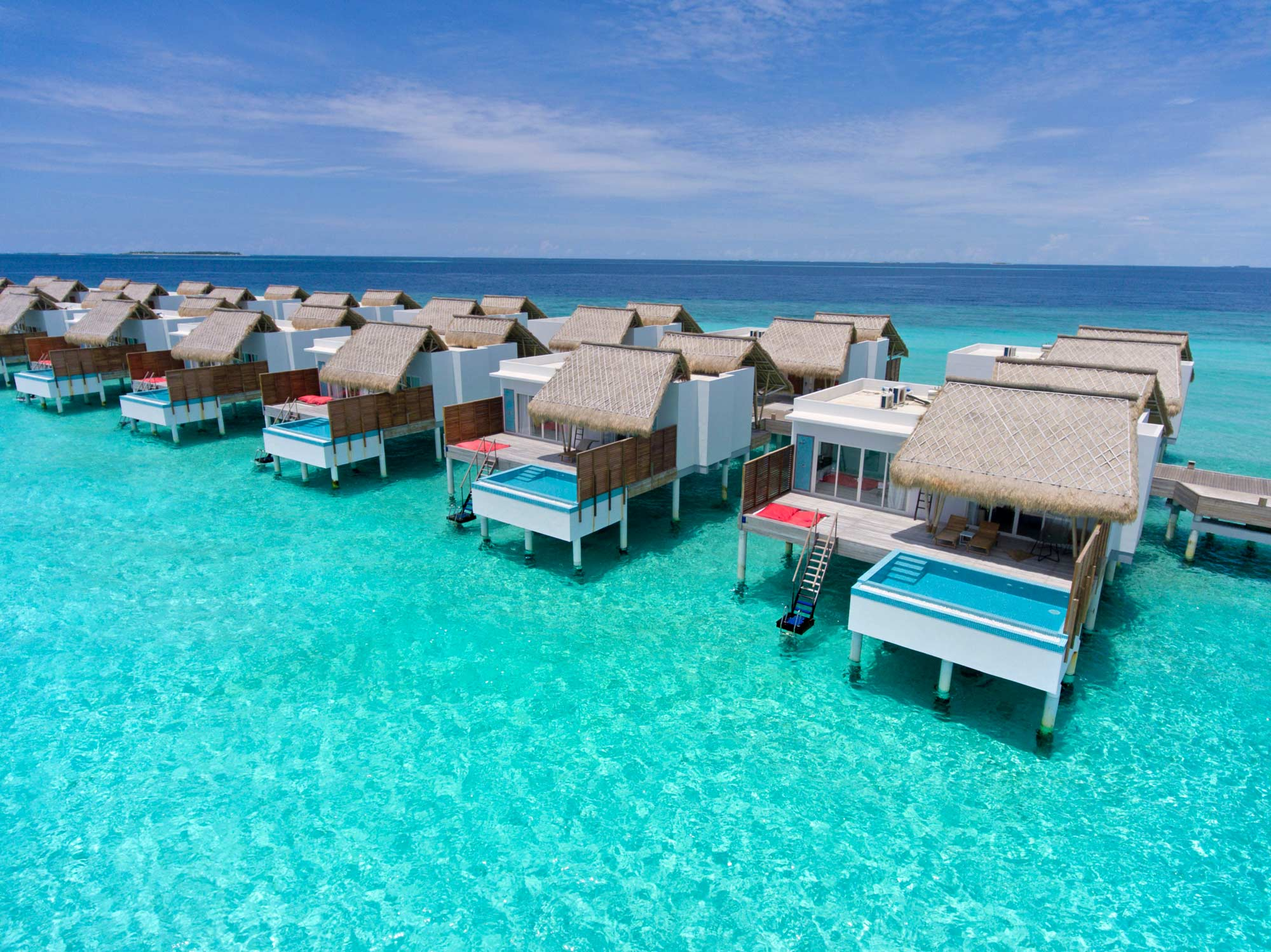 Water Villas with Pool