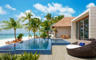 TWO BEDROOM BEACH SUITE VILLA WITH PRIVATE POOL Image