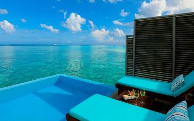 WATER VILLA WITH POOL Image