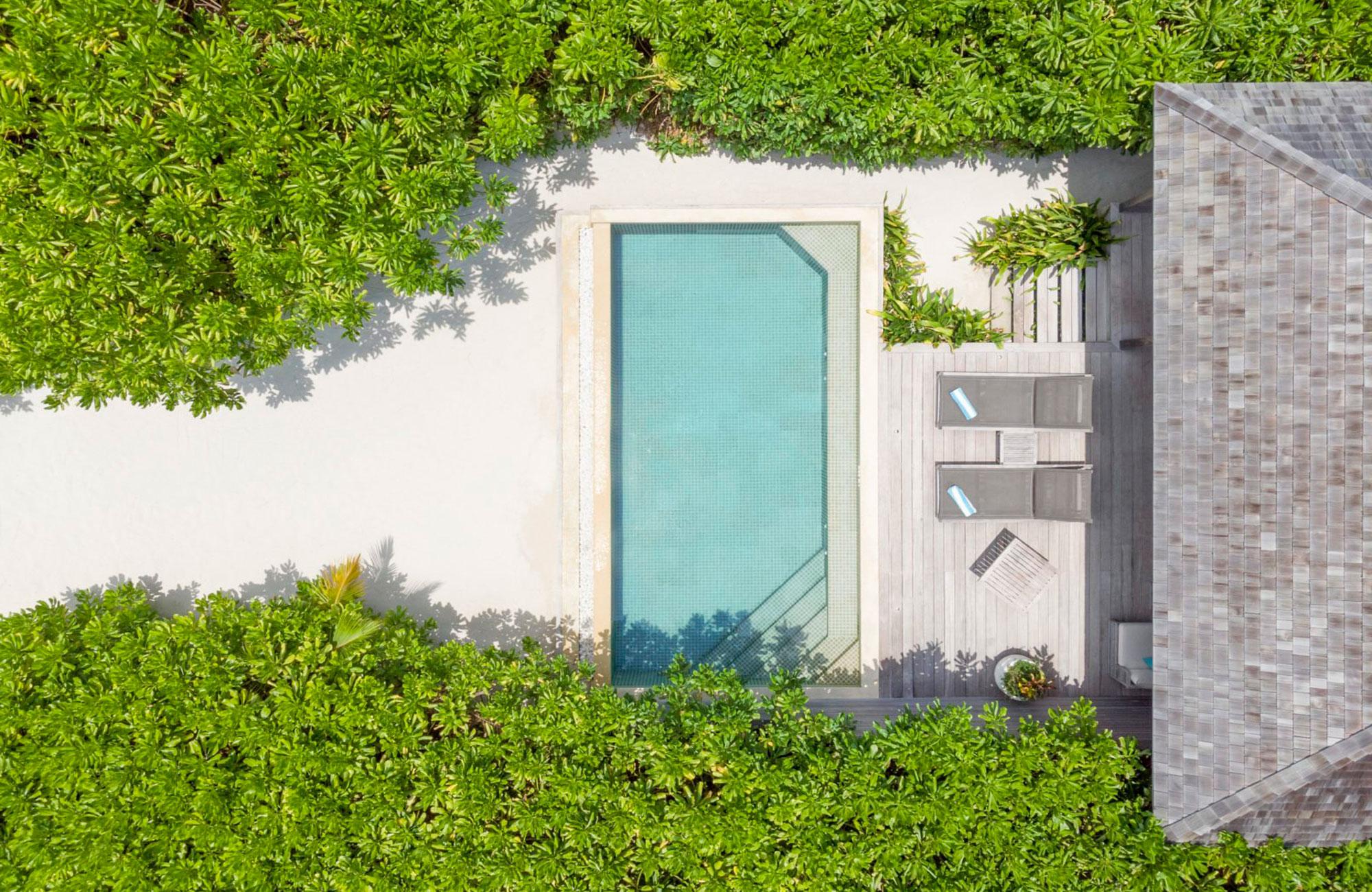 Beach Sunset Pool  Villa