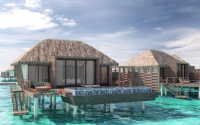 OVERWATER VILLA WITH PRIVATE POOL Image