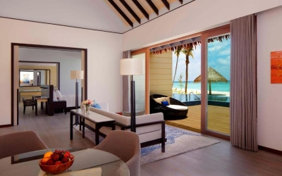 THREE BEDROOM BEACH SUITE VILLA WITH PRIVATE POOL Image
