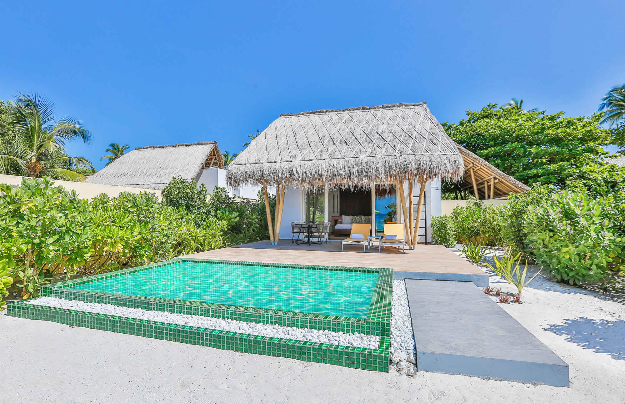 Marina Beach Villas with Pool